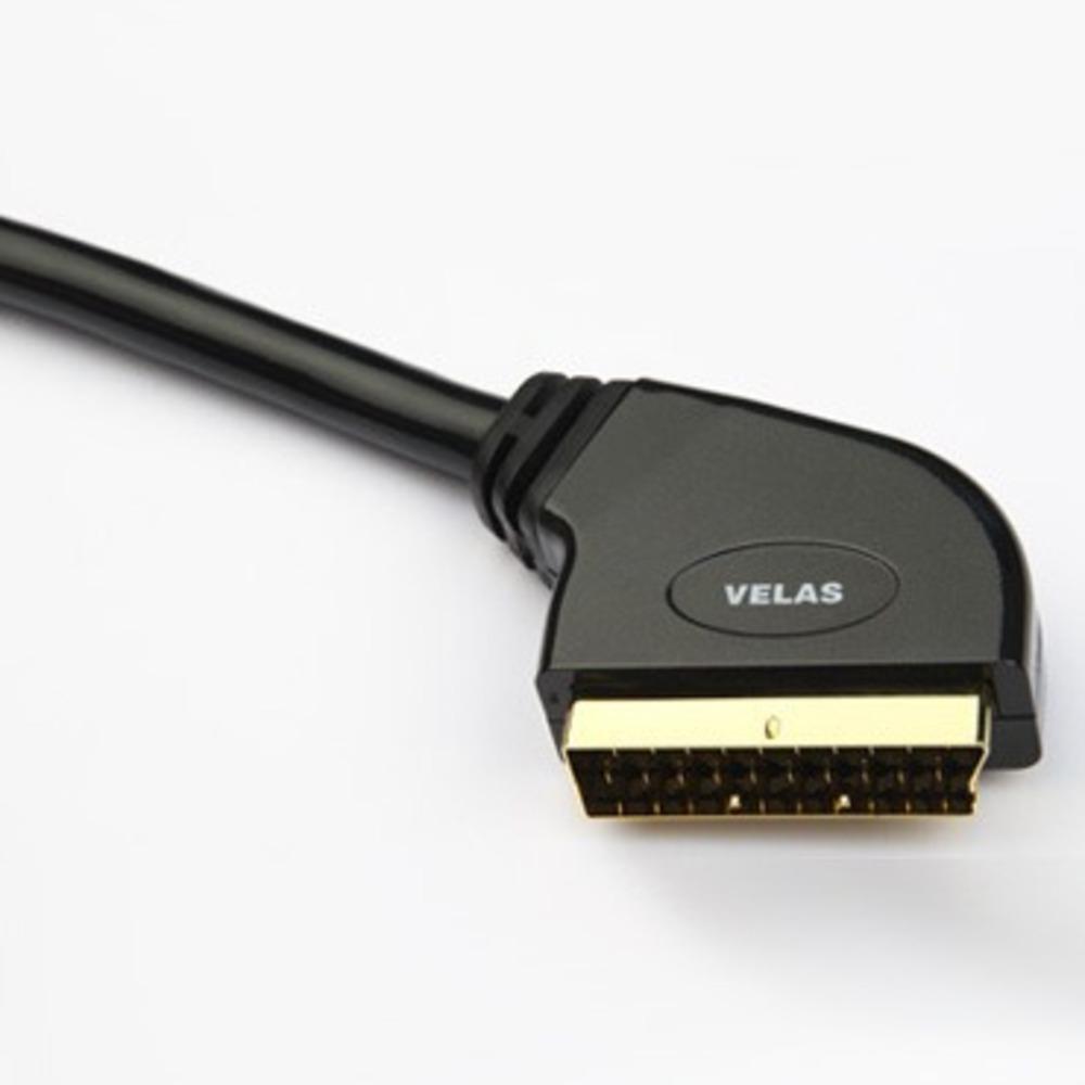 Кабель видео SCART Velas VSC-S1.0 1.0m
