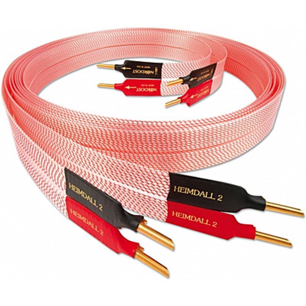 Акустический кабель Single-Wire Banana - Banana Nordost Heimdall 2 Banana 3.0m