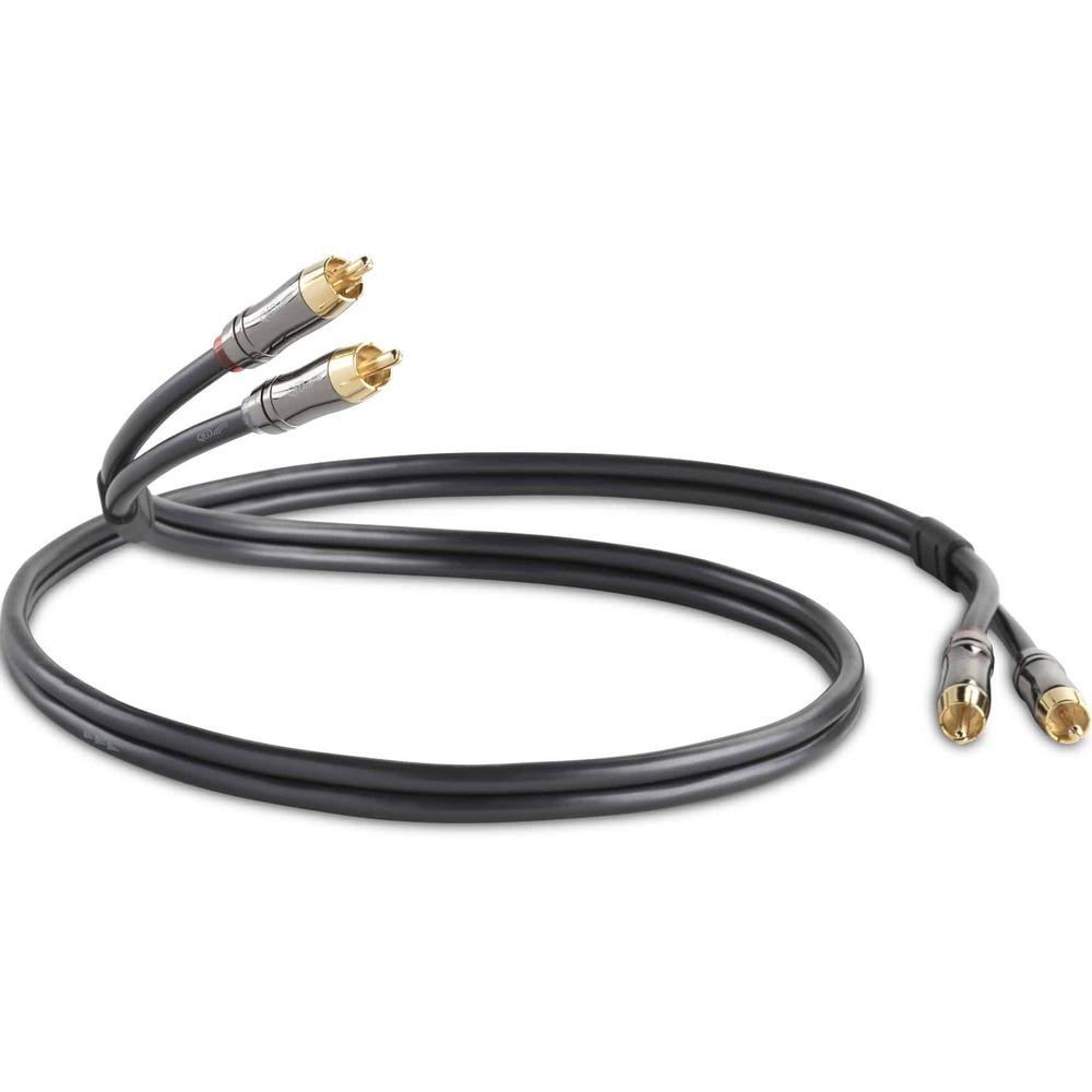 Кабель аудио 2xRCA - 2xRCA QED (QE6100) Performance Audio Graphite 0.6m