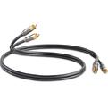 Кабель аудио 2xRCA - 2xRCA QED (QE6101) Performance Audio Graphite 1.0m