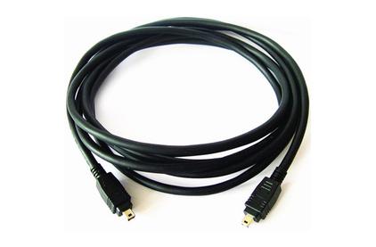 Кабель IEEE 1394 4pin - 4pin Kramer C-FM4/FM4-25 7.6m