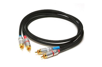 Кабель аудио 2xRCA - 2xRCA Acoustic Revive LINE-1.0RS 1.0m
