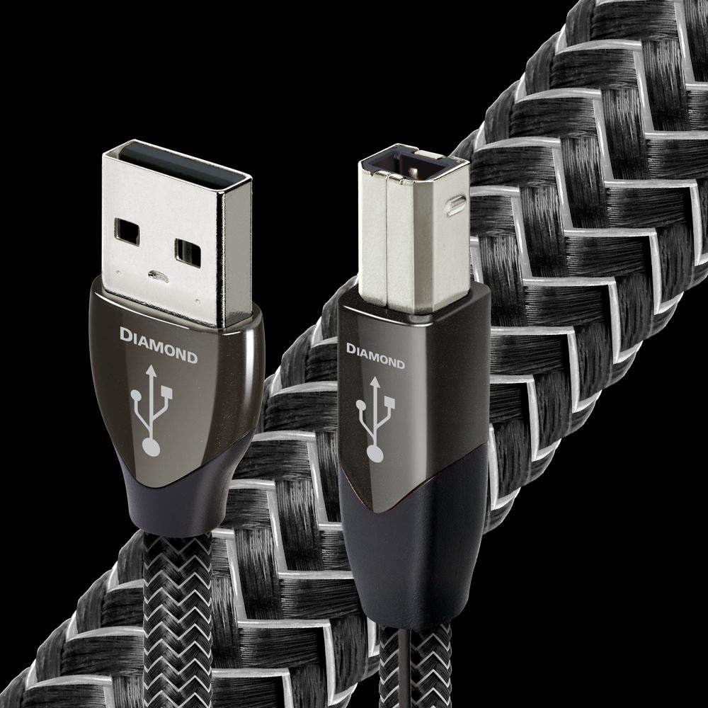 Кабель USB 2.0 Тип A - B Audioquest Diamond USB A-B 0.75m