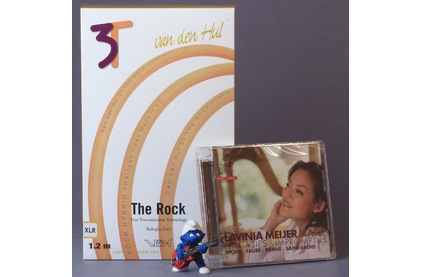 Кабель аудио 2xXLR - 2xXLR Van Den Hul The ROCK Hybrid (3T) XLR 1.0m