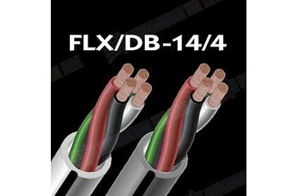 Отрезок акустического кабеля Audioquest (арт. 3652) FLX/DB-14/2 Grey 1.0m