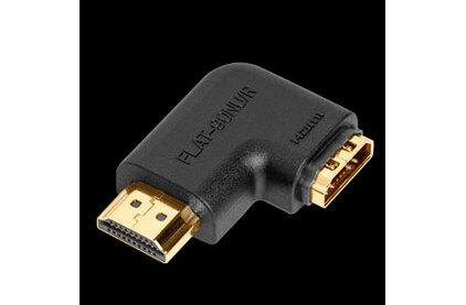 Переходник HDMI - HDMI Audioquest Flat 90 NU/R Adapter
