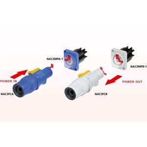 Разъем PowerCON Neutrik NAC3FCA
