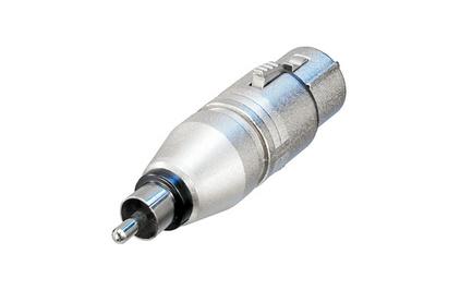 Переходник XLR - RCA Neutrik NA2FPMM