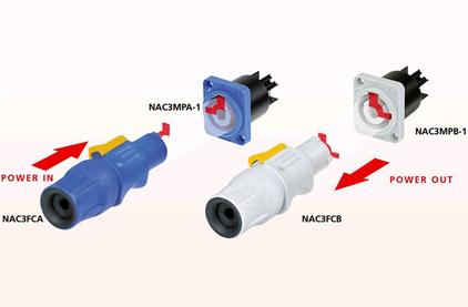 Терминал powerCON Neutrik NAC3MPB-1