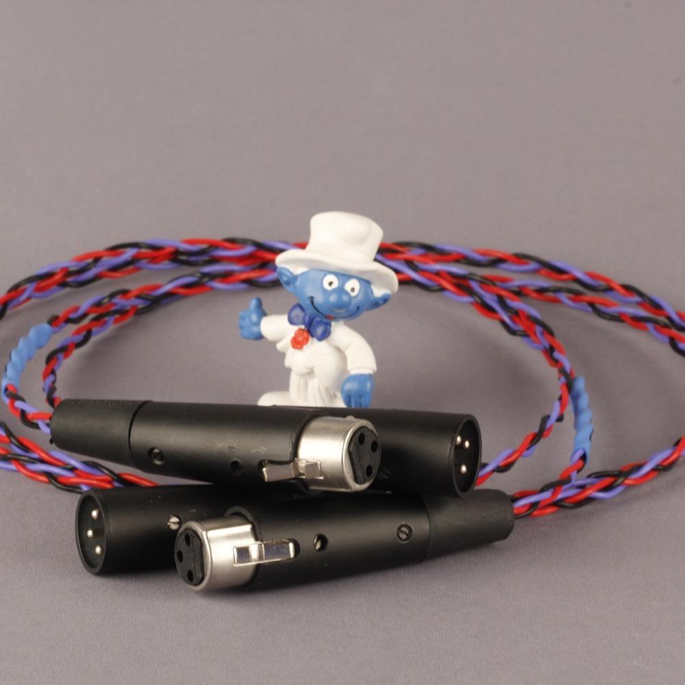Кабель аудио 2xXLR - 2xXLR Kimber Kable PBJ Balanced XLR 0.5m