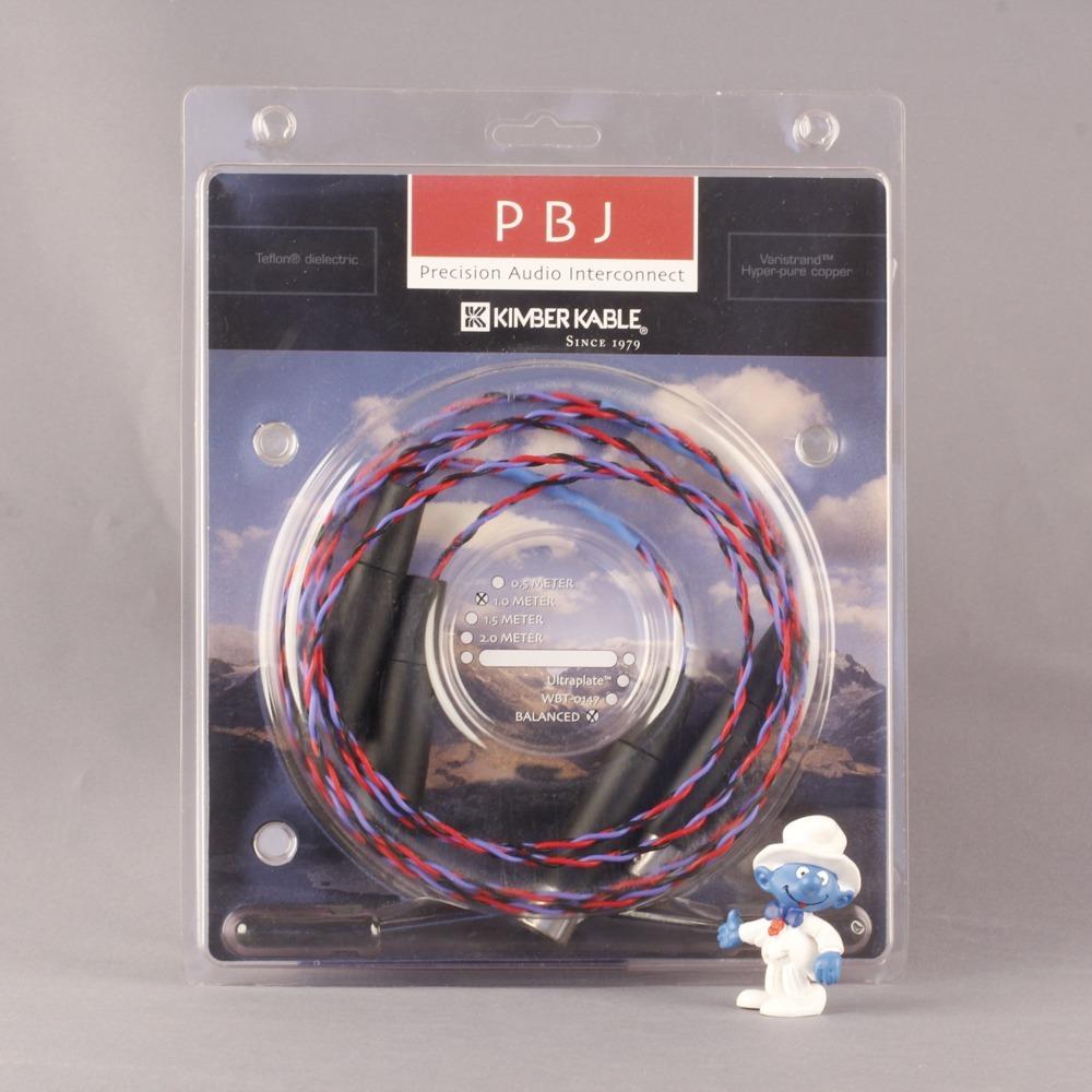 Кабель аудио 2xXLR - 2xXLR Kimber Kable PBJ Balanced XLR 1.5m