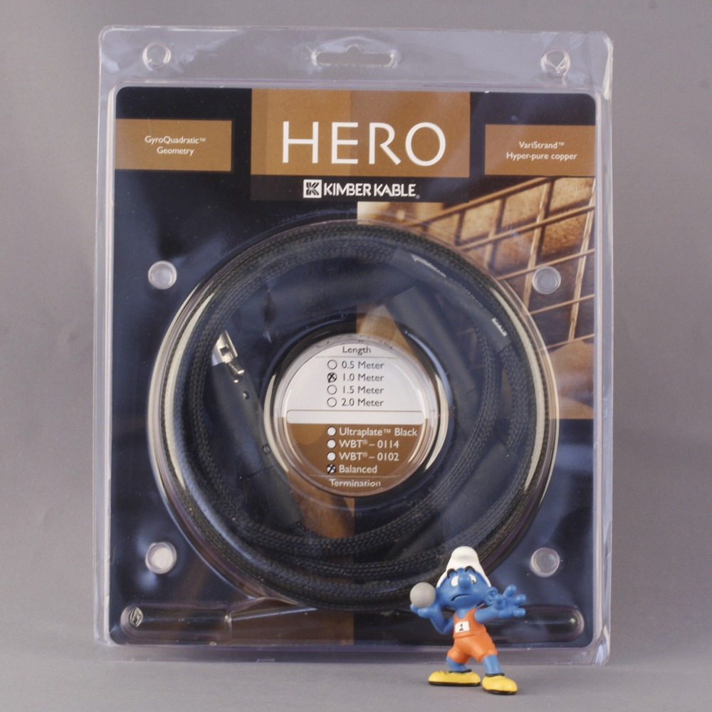 Кабель аудио 2xXLR - 2xXLR Kimber Kable HERO Balanced XLR 2.0m
