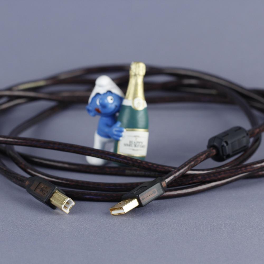 Кабель USB 2.0 Тип A - B Kimber Kable B BUS Cu 3.0m