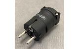 Разъем EU Schuko QED (QE3092) Reference Euro Plug Rhodium