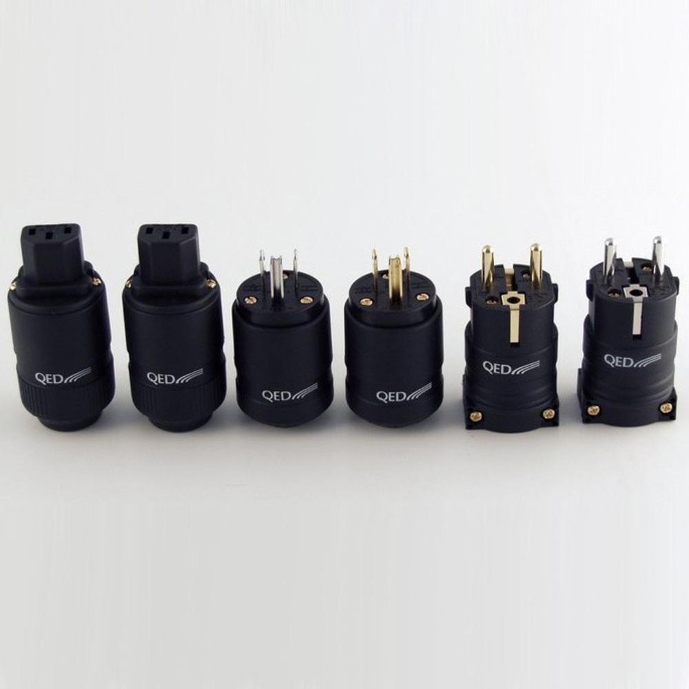 Разъем IEC C15 QED (QE3090) Reference IEC Connector Rhodium