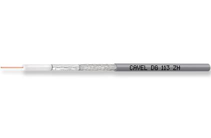 Кабель антенный в нарезку Cavel DG 113 ZH