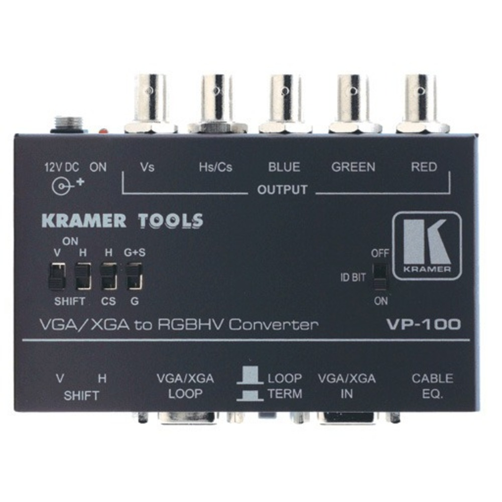 Преобразователь Аналоговое видео Kramer VP-100