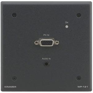 Передача по витой паре Компонентное видео и аудио Kramer WP-121/US(G)
