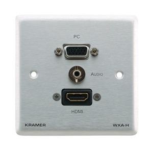 Установочная панель с разъемами DVI, HDMI Kramer WXA-H/EU(W)-86