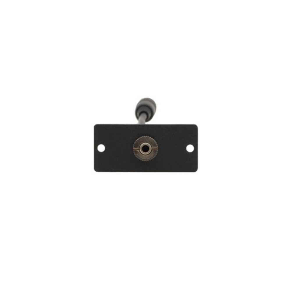 Модуль-переходник с проходным разъемом для стерео аудио (3,5-мм розетка) Kramer WA-1PN(B)