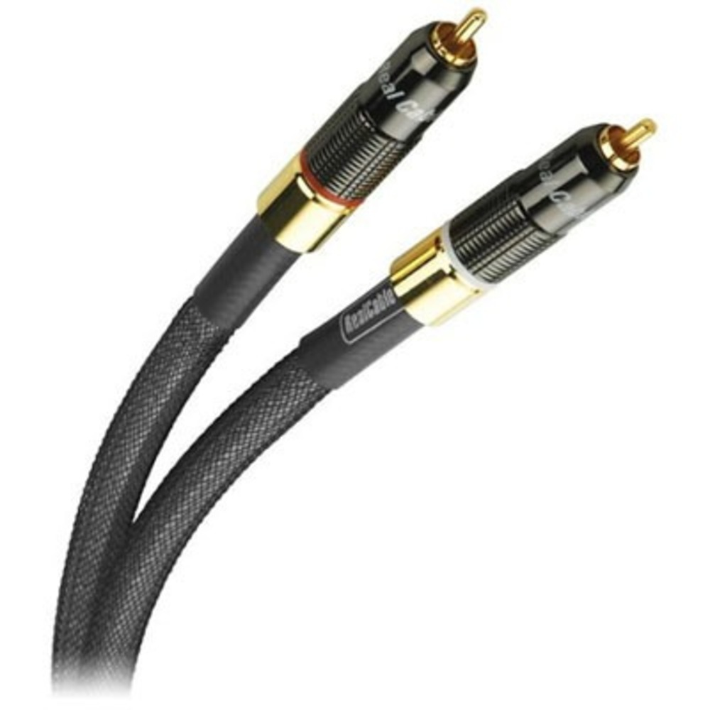 Кабель аудио 2xRCA - 2xRCA Real Cable CA 1801 0.75m