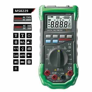 Мультиметр MASTECH 13-2029 Профессиональный мультиметр 5 в 1 MS8229
