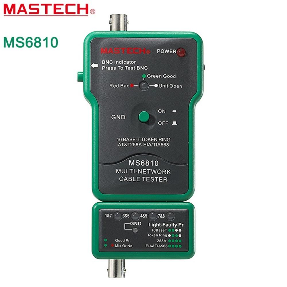 Прочий измерительный инструмент MASTECH 13-1222 Тестер с генератором сигнала MS6810