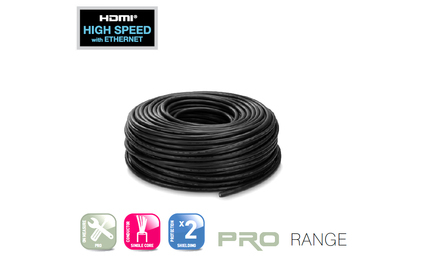 Отрезок кабеля HDMI Real Cable (арт. 3821) PRO-HDCABLE 0.89m