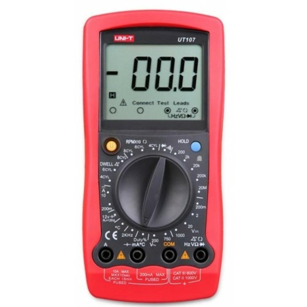 Мультиметр UNI-T 13-0027 Автомобильный тестер UT107