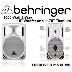 Колонка концертная BEHRINGER B 215XL EUROLIVE