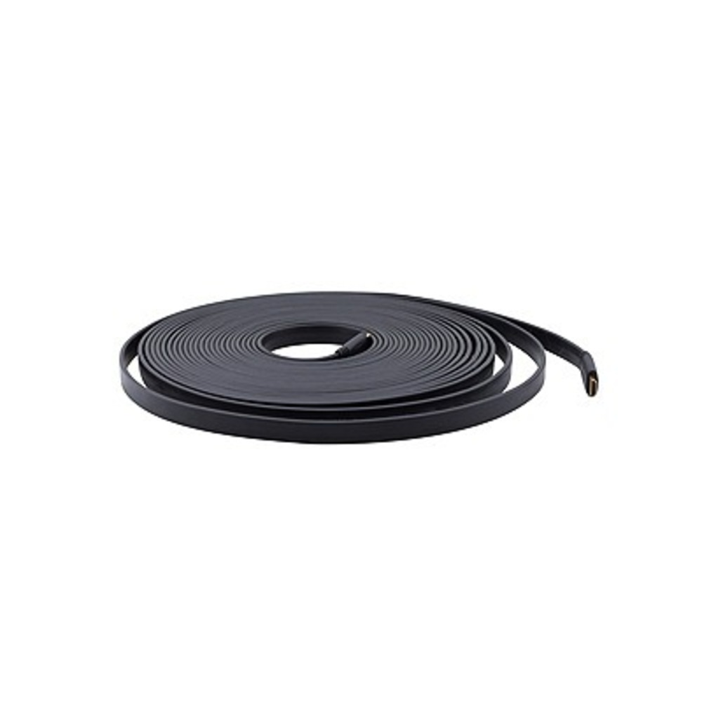 Кабель плоский HDMI – HDMI Kramer C-HM/HM/FLAT/ETH-3 0.9m