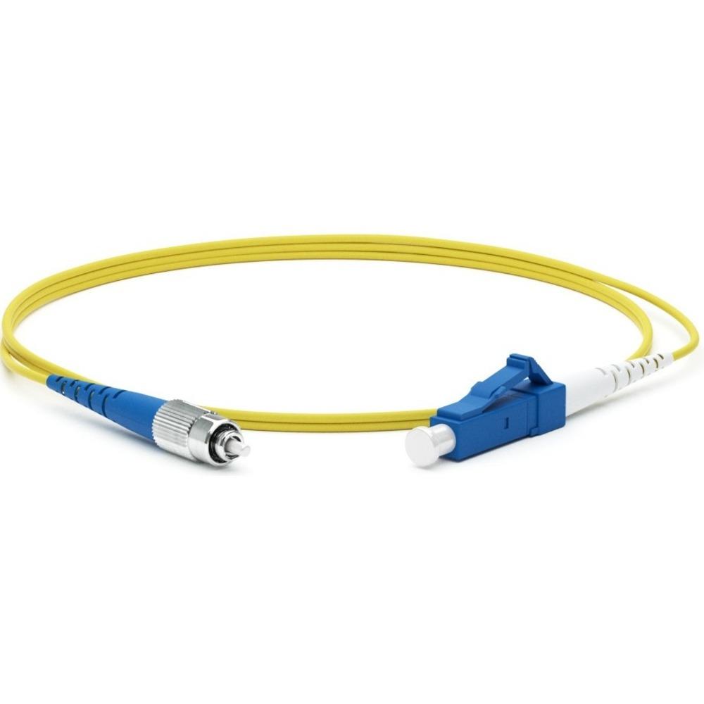 Патч-корд волоконно-оптический Hyperline FC-S2-9-FC/UR-LC/UR-H-10M-LSZH-YL 10.0m