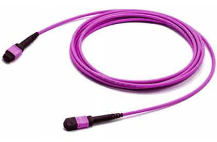 Кабель оптический патч-корд Hyperline FHD-MC3-504-MPOF12/PS-MPOF12/PS-A-5M-LSZH-MG 5.0m