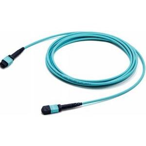 Патч-корд волоконно-оптический Hyperline FHD-MC3-503-MPOF12/PS-MPOF12/PS-B-5M-LSZH-AQ 5.0m