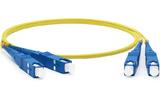 Кабель оптический патч-корд Hyperline FC-D2-9-SC/UR-SC/UR-H-5M-LSZH-YL 5.0m