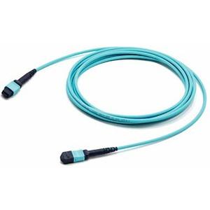 Патч-корд волоконно-оптический Hyperline FHD-MC3-503-MPOF12/PS-MPOF12/PS-A-15M-LSZH-AQ 15.0m