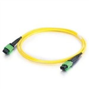 Патч-корд волоконно-оптический Hyperline FHD-MC3-9-MPOM12/US-MPOF12/US-A-3M-LSZH-YL 3.0m