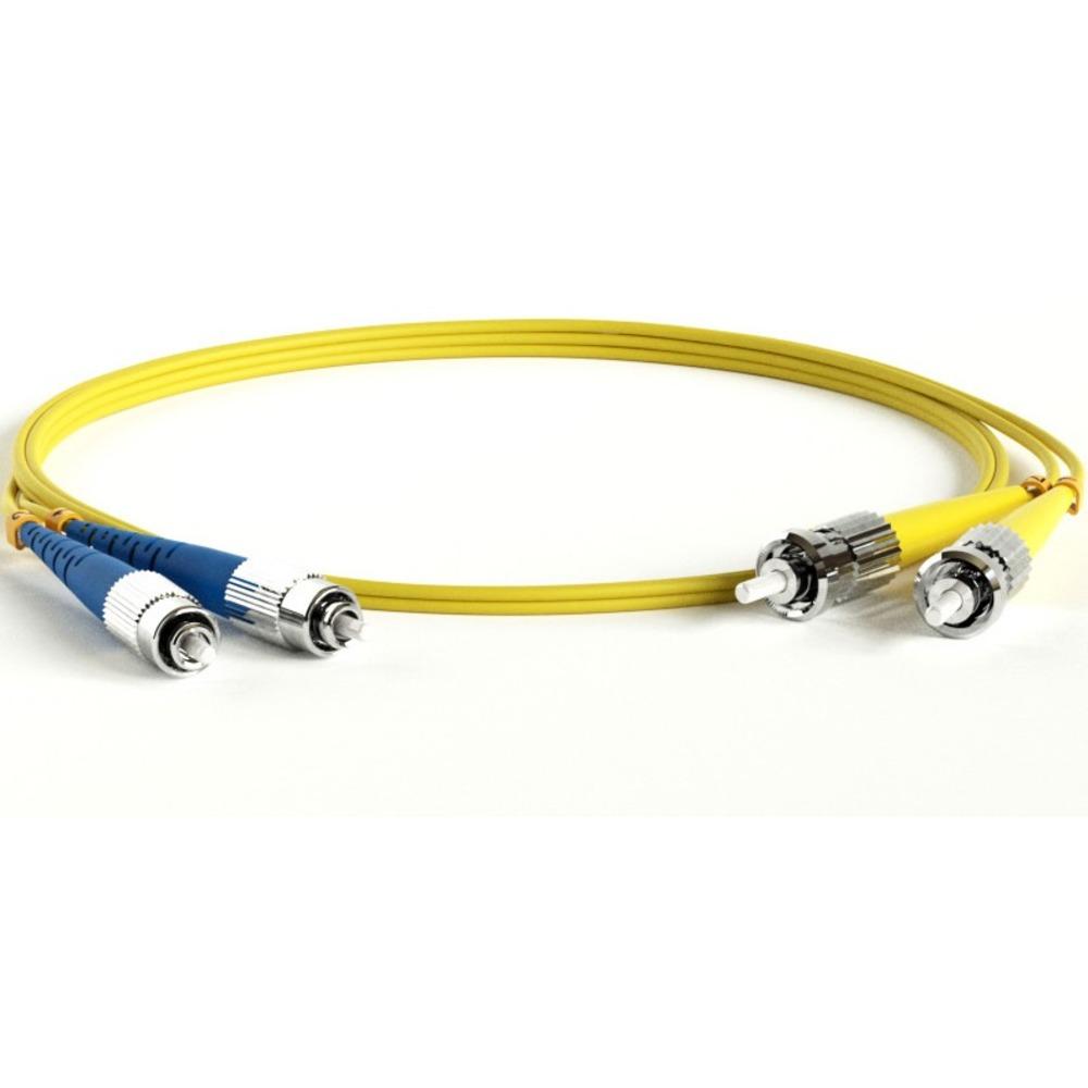 Патч-корд волоконно-оптический Hyperline FC-D2-9-FC/UR-ST/UR-H-2M-LSZH-YL 2.0m