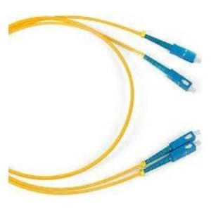 Патч-корд волоконно-оптический Hyperline FC-D2-9-LC/AR-LC/UR-H-2M-LSZH-YL 2.0m