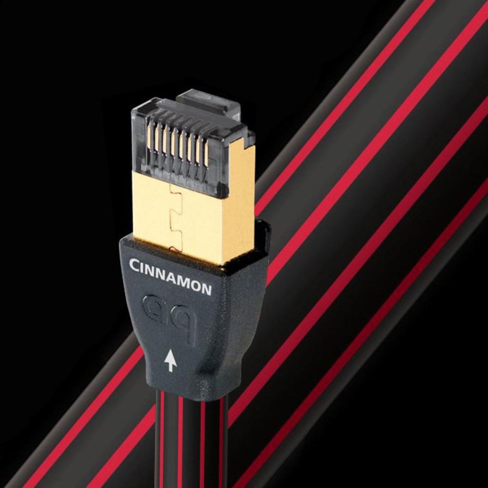 Кабель витая пара патч-корд Audioquest Cinnamon RJ/E Ethernet 8.0m