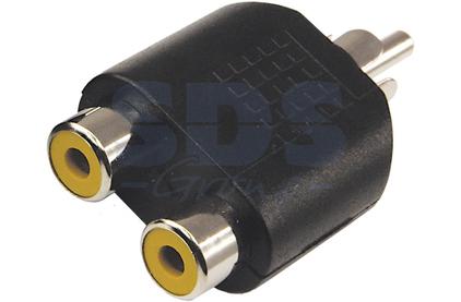 Переходник RCA - RCA Rexant 14-0421 Adapter