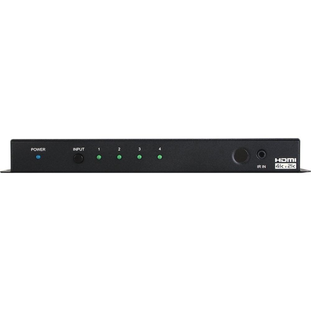 Коммутатор 4х1 HDMI 2.0 Cypress CPLUS-V4H1H