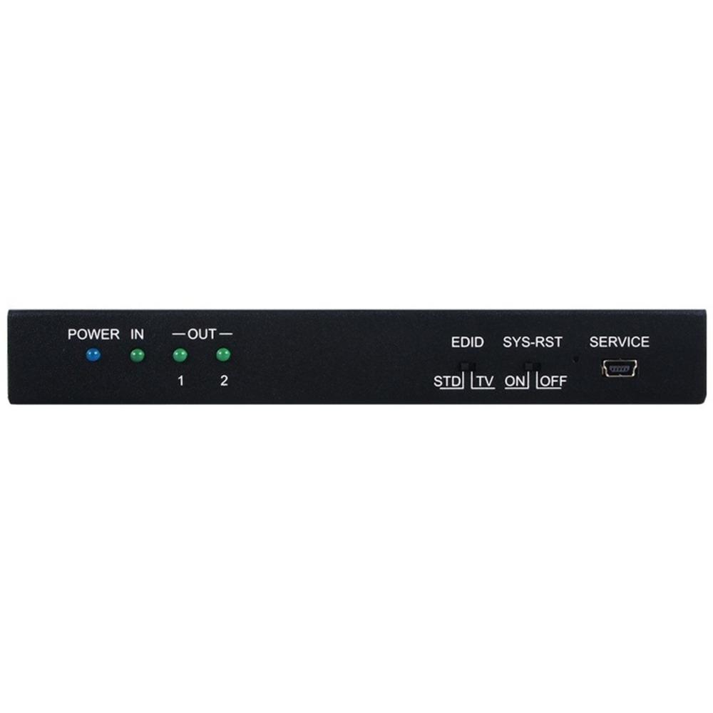 Усилитель-распределитель 1:2 HDMI 2.0 4K с HDCP 1.4 Cypress CPRO-U2T