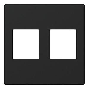 Модуль настенной панели для двух вставок Keystone Procab CP45KS2/B