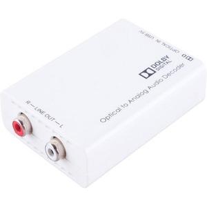 Преобразователь цифрового аудиосигнала интерфейса TOSLINK в аналоговый стереоаудиосигнал с декодированием Dolby Digital Cypress DCT-1D