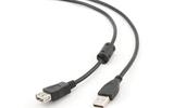 Удлинитель USB 2.0 Тип A - A Cablexpert CCF-USB2-AMAF-6 1.8m
