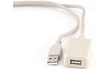 Удлинитель USB 2.0 Тип A - A Cablexpert UAE016 4.8m