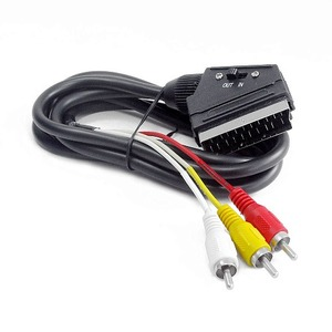 Кабель видео SCART - RCA Cablexpert CCV-519 1.8m