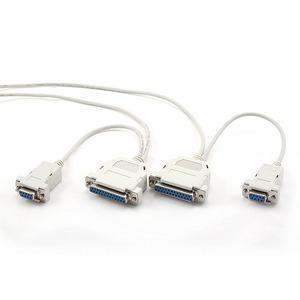 0-модемный универсальный кабель Gembird CC-140-6 1.8m