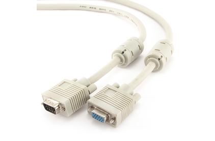 Кабель видео VGA - VGA Cablexpert CC-PPVGAX-6 1.8m